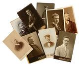 Foto antiga dos homens — Fotografia Stock