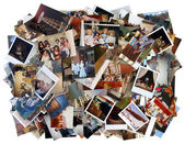 Wiele starych kolorów zdjęcia — Zdjęcie stockowe