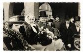 Ročník fotografické padesáté výročí svatby — Stock fotografie