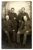 Vintage photo of Soldiers of the World War I — Zdjęcie stockowe