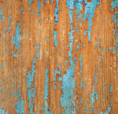 Texture of the old painted board — Stock Photo
