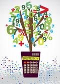 Bookkeeping — Stock Vector