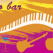 Piano bar — Stock Vector #28135225