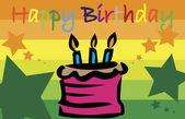 Buon compleanno — Vettoriale Stock