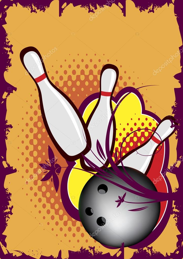 Bowling Game.vector Banner