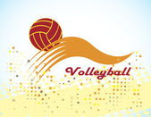 Volleyball — Stockvektor