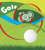 Golf eye — Stock Vector