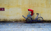 Cycle rickshaw in Saigon (Ho Chi Minh City), Vietnam. — Stock Photo