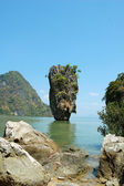 James Bond island in Thailand, Ko Tapu — Stockfoto