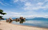 Peaceful bay in Cam Ranh, Khanh Hoa province, Vietnam. — Stock Photo