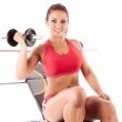 Beautiful fitness woman — Stock Photo #27541849