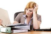 オフィスでのビジネスの女性 — ストック写真