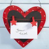 Día de san valentín. corazón — Foto de Stock