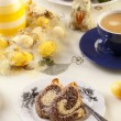 Easter marble ring cake — Stock Photo #42245593