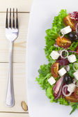 Fresh Greek salad — Stock Photo