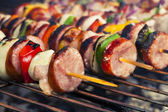 Grilled shashlik — Stock Photo