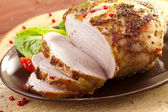 Marinated roast ham — Stock Photo