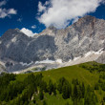 Mountains panorama — Stock Photo #27549475