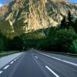 Stock Photo: Road to mountains