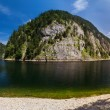 Panorama of the lake — Stock Photo