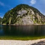 Panorama of the lake — Stock Photo