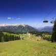 Austria mountains panorama — Stock Photo
