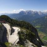 Austria : the terrace — Stock Photo