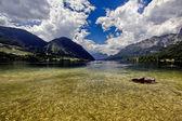 Panorama jezera grundlsee rakousko — Stock fotografie
