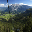 Austria Tauplitz lift view — Stock Photo