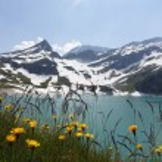 Mountains panorama — Stock Photo