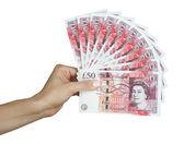 UK money british pounds — Stock Photo