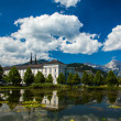 Austria Admont monastery — Stock Photo