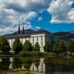 Austria Admont monastery — Stock Photo