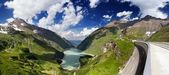 Austria Kaprun panorama — Stock Photo