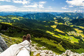 High european Alps — Stock Photo