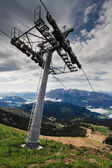 Chair Lift In Austria — Stock Photo