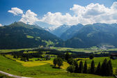 Village in the mountains — Stock Photo
