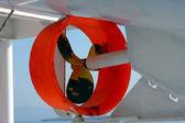 Ship's propeller — Stock Photo