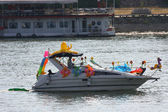 карнавал лодок белград — Стоковое фото