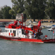 Stock Photo: River rescue ship