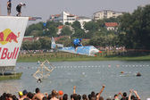 Red bull flugtag — Foto de Stock