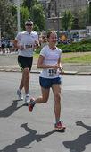 Belgrade Marathon 2014. — Stockfoto