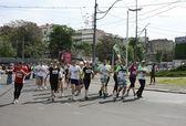 Belgrade Marathon 2014. — Stock Photo