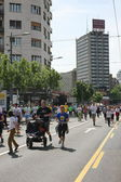 Belgrade Marathon 2014. — Stock Photo
