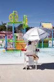 водный парк игровая площадка — Стоковое фото
