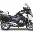 Постер, плакат: Police Motorcycle Side View Angle
