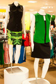 Retail Clothing Store Mannequins — Stock Photo
