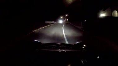 Unidad de noche loto — Vídeo de Stock