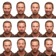 Expressions - Middle Aged Man — Stock Photo
