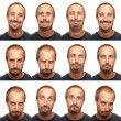 Expressions - Thirty Something Aged Man — Stock Photo #30424655
